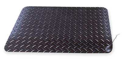 NOTRAX 826S0023BL-RS Static Dissipative Mat,Black,2ft. x 3ft.