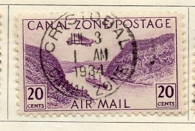 Panama 1931 Early Issue Fine Used 20c. 150304