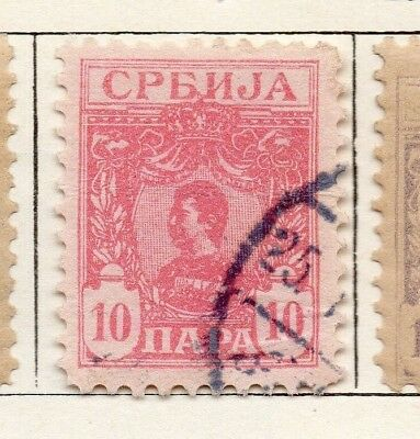 Serbia 1901-02 Early Issue Fine Used 10pa. 150429