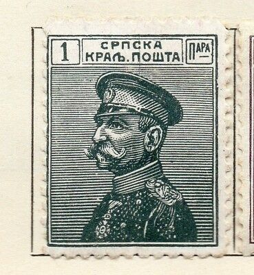 Serbia 1911 Early Issue Fine Mint Hinged 1pa. 150449