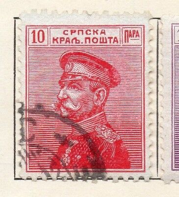 Serbia 1911 Early Issue Fine Used 10pa. 150452