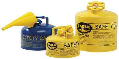 1 gal. Blue Galvanized Steel Type I Safety Can, For Kerosene EAGLE UI-10-SB