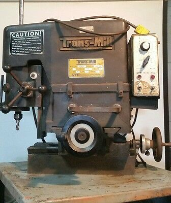 Trans-mill uvt SMALL VERTICAL MILLING MACHINE
