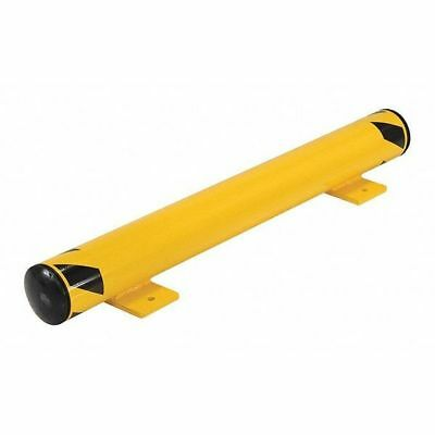 "FSBOL-42 Floor Stop Bollard, 4-1/2"", Yellow"