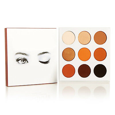 9 Colors Matte Beauty Eye Shadow Makeup Cosmetic Shimmer Palette Eyeshadow Set