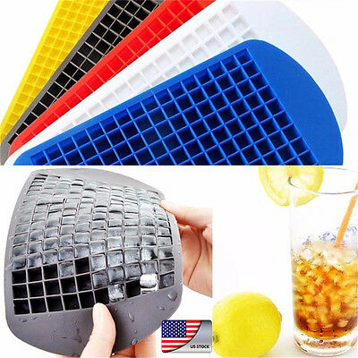 150/160 Mini Ice Cube Tray Frozen Cubes Trays Silicone Ice Mold Kitchen Tool