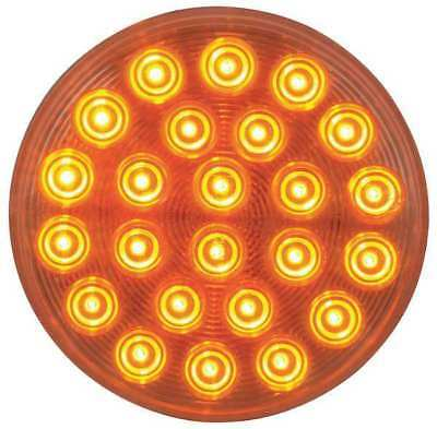 MAXXIMA M42701YCL Warning Light, Round, Amber Clear Lens