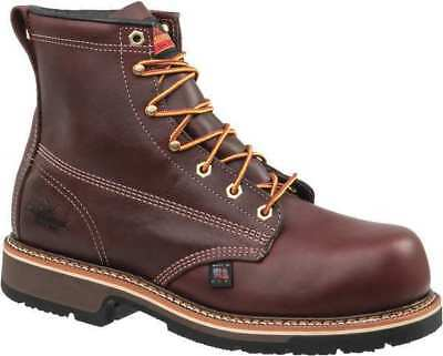 Size 11-1/2 Work Boots, Men's, Brown, Steel Toe, D, Thorogood Shoes