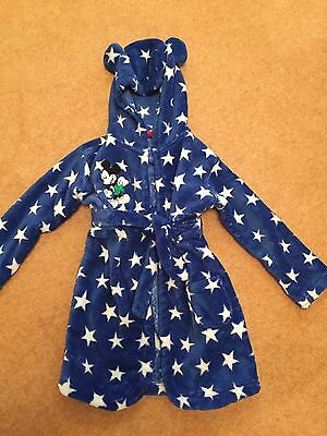 Boys Disney Dressing Gown Size 18-24 Months