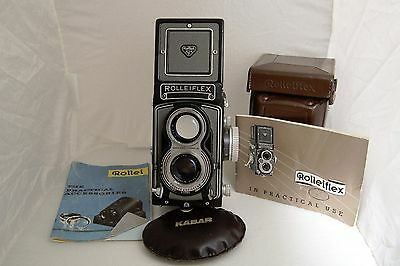 Rolleiflex Camera 3.5T with Carl Zeiss lens