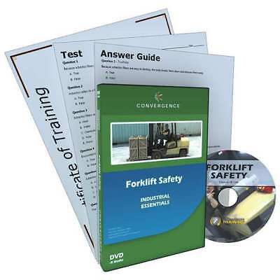 CONVERGENCE TRAINING 130 DVD, Forklift Safety