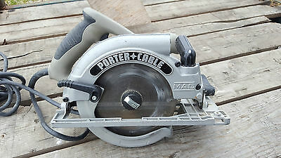 PORTER CABLE corded circular saw model 325mag 7-1/4 with blade HD 15 amp