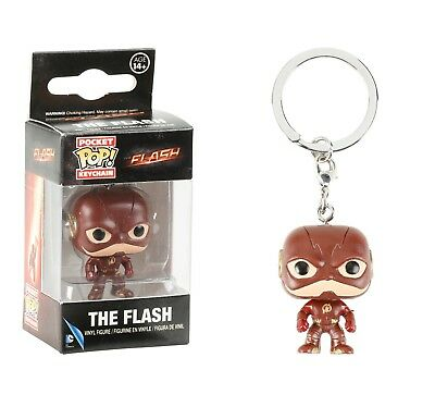 Funko Pocket Pop Keychain TV The Flash Vinyl Action Figure Collectible Toy 10318