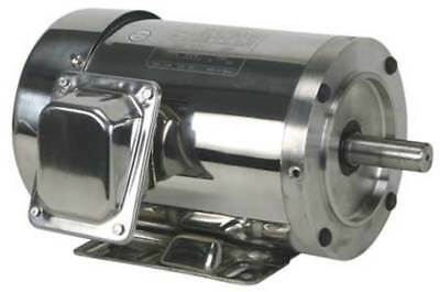 DAYTON 4GPT4 Washdown Motor, 3 Ph, TEFC, 2 HP, 1750 rpm