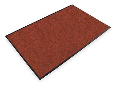 NOTRAX 130S0035RB Carpeted Entrance Mat, Red/Black, 3 x 5 ft