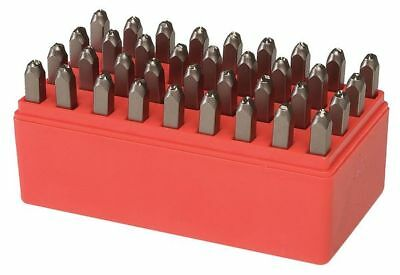 Letter and Number Stamp Set,1/4 In,Steel ZORO SELECT 2CDY2