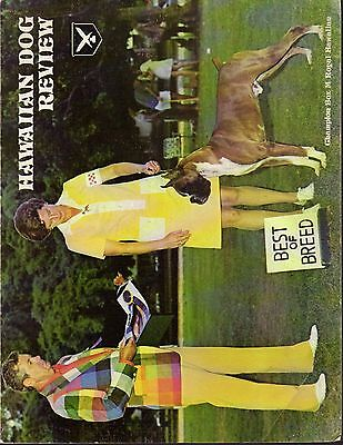 Hawaiian Dog Review Magazine Volume III 1974, Boxer Cover, History
