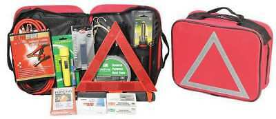 FIRST AID ONLY 90311G First Aid Kit, Fabric Case, Vehicle, Emergency, 1 Person