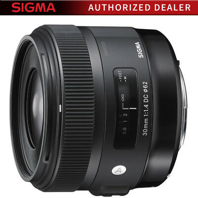 Sigma 30mm F1.4 ART DC HSM ART Lens for Canon Digital SLR Cameras