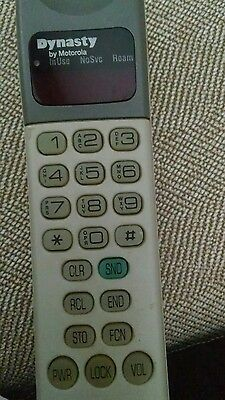 "Vintage Motorola ""Dynasty"" mobile cell phone 1993"