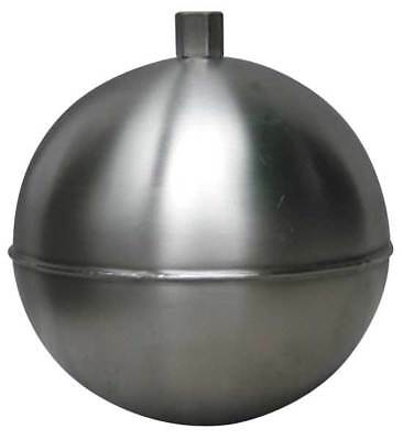 NAUGATUCK GR10S414HE Float Ball, Round, SS, 10 In