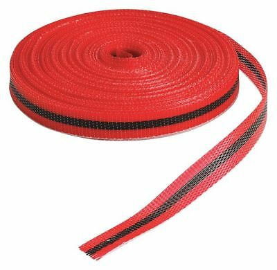 Barricade Tape,Red/Black,150 ft x 3/4 In