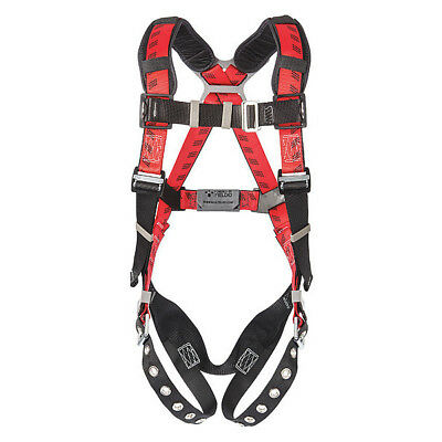 Full Body Harness, Universal, 400 lb., Red MSA 10041599
