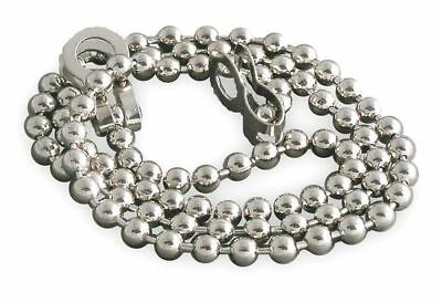 1PPH2 Stopper Chain, Nickel, PK 5