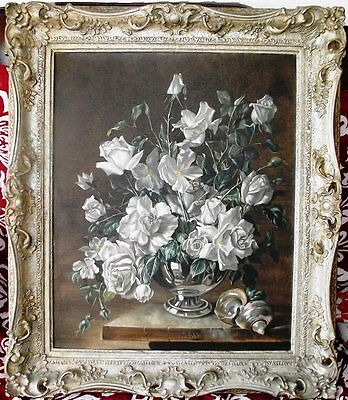 Superb oil on canvas still life by Robert Dumont Smith