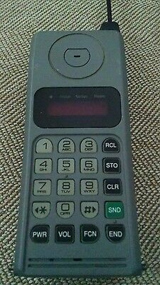 Vintage cell mobile phone Motorola gray
