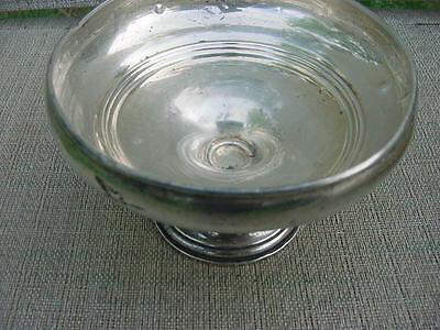 Vintage Sterling Silver Weighted  Pedestal Candy Bowl For Scraps