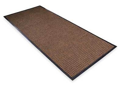 Carpeted Entrance Mat,Brown,4ft. x 6ft. NOTRAX 166S0046BR