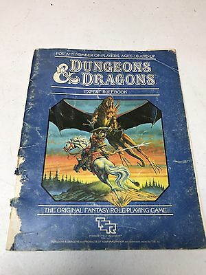 Dungeons & Dragons Role Playing Game Expert Set Rulebook TSR2015 D&D