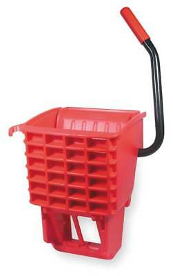 RUBBERMAID FG612788RED Mop Wringer, Side Press, 12 to 32 oz., Red