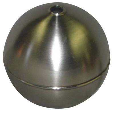 NAUGATUCK GRT80S421B Float Ball, Round, SS, 8 In