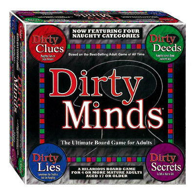 Dirty Minds Ultimate Edition Board Game NEW