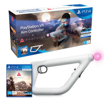 Farpoint with Aim Controller Bundle PlayStation VR PS4 Game NEW