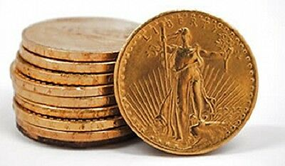 Two (2) Saint-Gaudens pre-1933 US Gold $20 Double Eagles - FREE shipping