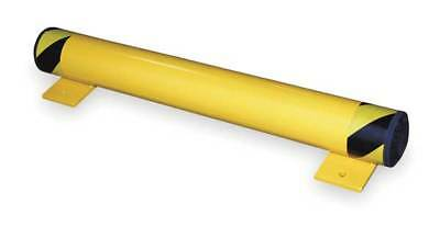 "FSBOL-36 Floor Stop Bollard, 4-1/2"", Yellow"
