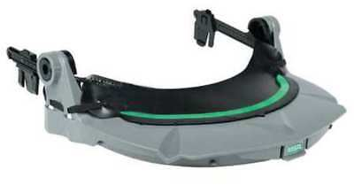 Faceshield Frame,Slotted Cap,Plastic,Gry MSA 10115821