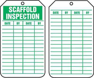 Inspection Tag,5-3/4 x 3-1/4,PK25 ACCUFORM TRS317CTP