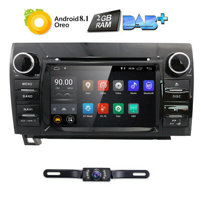 2007-2013 Toyota Tundra Sequoia Navigation System car DVD GPS player Radio Ipod