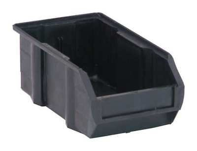 "Black Conductive Stack and Hang Bin, 7-3/8""L QUANTUM STORAGE SYSTEMS QUS220CO"