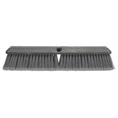 TOUGH GUY 6YTC4 Floor Brush, 24 In, Gray