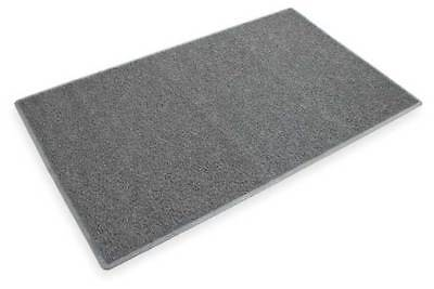3M 26464 Carpeted Entrance Mat, Gray, 3 x 5 ft.