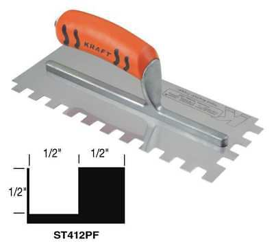 Trowel, Square Notch, 11, Superior Tile Cutter Inc. And Tools, ST412PF
