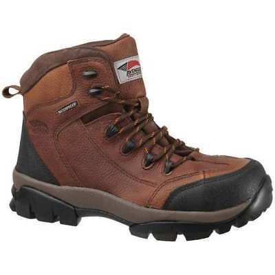 Hiking Boots,Men,10M,Lace Up,Brown,PR AVENGER SAFETY FOOTWEAR A7244 SZ: 10M
