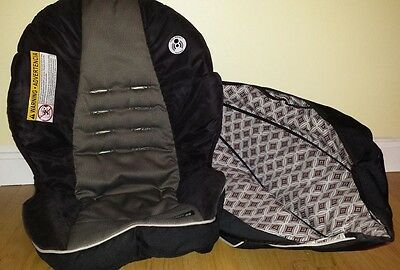 Graco SNUGRIDE 35 Click Connect Infant Car Seat REPLACEMENT COVER and Canopy