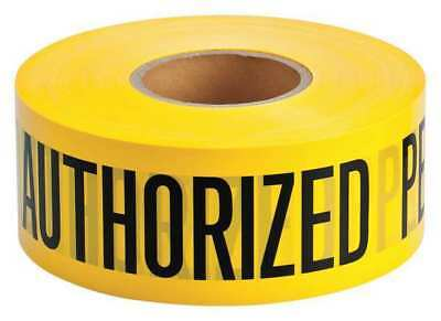 BRADY 91462 Barricade Tape, Polyethylene, 1000 ft.