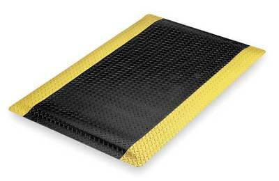 Black with Yellow Border 975S0035BY N Antifatigue Mat,Black,YllwBrdr,3ft.x5ft.